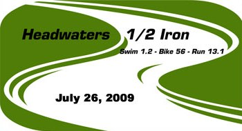 Headwaters Half Iron Logo