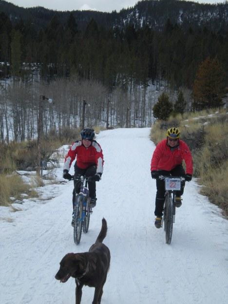Powder Hound Test Ride
