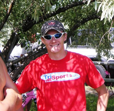 Triton Coach Aubrey Curtis Wins 2009 Spring Meadow Triathlon
